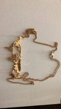 gold chain necklace with cross pendant Ashburn, 20148
