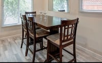 Dinning table with 6 chairs, strong + Sturdy Hayward, 94544