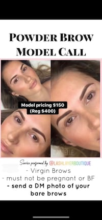 Model Call Microblading & Powder Brows  Pickering
