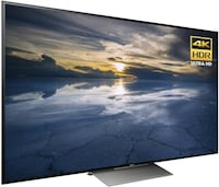 """BNIB Never opened Sony 65"""" 4K UDH HDR LED Android Smart TV"""