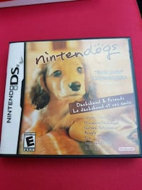 Nintendo dogs DS game .....