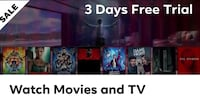 Watch Movies & TV 3 Days Free Trial  Toronto