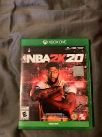 Xbox controller and NBA 2k20 Newmarket, L3Y 7E5