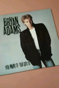 "Bryan Adams ""You want it you got it"" vinyl album La Plata, 20646"