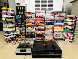 Collection VHS..Have fun