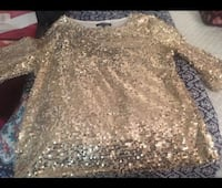 Golden Sparkling Blouse - Great for dance outfits!  Potomac, 20817