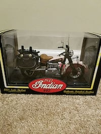 1942 Indian 442 motorcycle , die cast, never opened.   Silver Spring, 20901