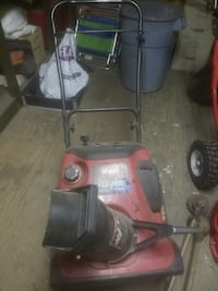 toro snow blower light enough to pick up runs fine needs a gov adjustment