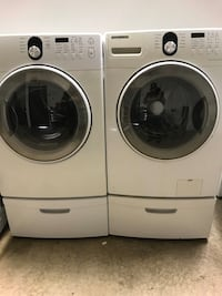 Samsung washer and gas dryer set Clinton Township, 48035