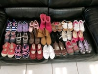 21 pairs of girls size 7 shoes, including UGGs Jackson, 38305