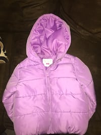 pink zip-up bubble jacket Essex, 21221