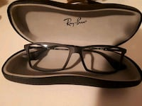 Ray ban glass frames and case  Edmonton, T5N 2Z9