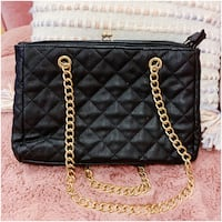 PRICE IS FIRM, PICKUP ONLY - Forever21 Black Quitted Shoulder Bag Toronto, M4B 2T2