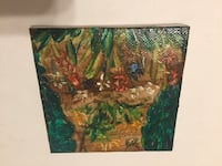 """Small Oil Painting by Tanya Petrova 4""""x4"""" Mary Esther, 32569"""