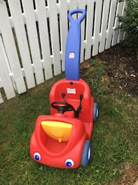 red and blue Little Tikes cozy coupe Clarksburg, 20876