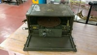 Vintage Military Turntable MX-39 Record Player For Orange, 92866