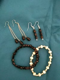 brown and white beaded necklace Brownsville, 78526