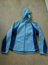 New C9 Champion blue soft shell hooded workout jacket Burleson, 76028