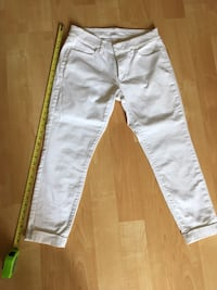 LOFT white curvy skinny ankle jeans, ladies 28/6; fit 8 or 10 - $15 Mississauga, L5L 5P5