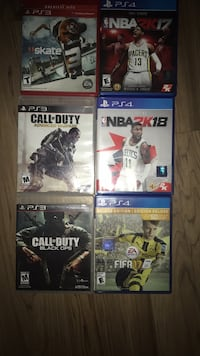 lot of ps4 and ps3 games San Jose, 95124