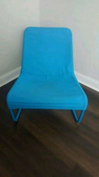 Canvas chair in blue Chicago, 60638