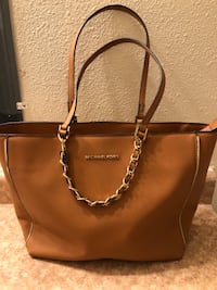 brown leather 2-way handbag Fresno, 93721