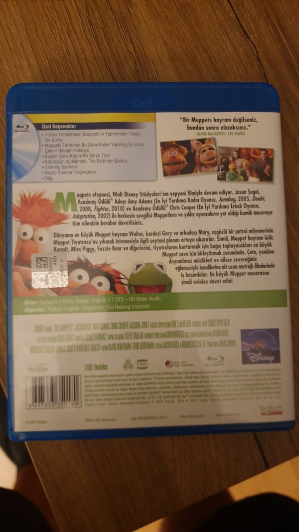 Blue-Ray Muppets cb0feabd-3ec8-422d-8f14-449a2718b3c8