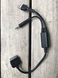 BMW Ipod Adapter Cable with USB and 3.5mm Toronto, M8V 4G1
