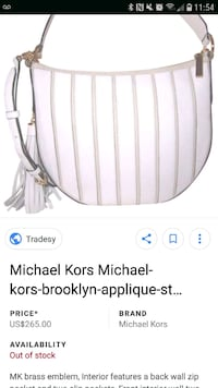 Authentic new Micheal kors bag Laval, H7T 0A9