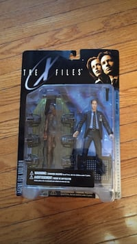 The x files agent fox mulder action figure pack 539 km