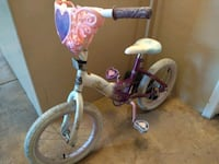 toddler's pink and white bicycle Tucson, 85705