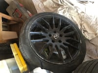 2 tires  [TL_HIDDEN] % thread. With Mazda rims, tires and rims fits most Mazda's  Toronto, M5E 2A2