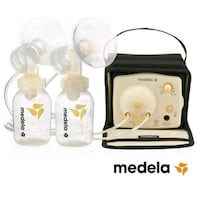 white Medela breast pump set Calgary, T2K 0J2