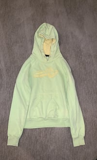 Sz.Small Oakley pull over light green and yellow hoody