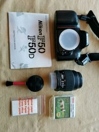 Nikon F50 Film Camera with Bag & Accessories Toronto, M2N