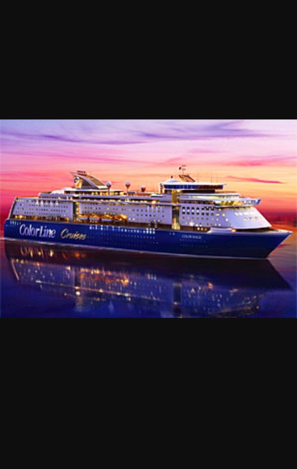 Colorline gavekort for 4/2 personer. 2 døgns cruise