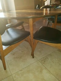 1962 Lane Mid-century modern dining set Del Mar, 92014