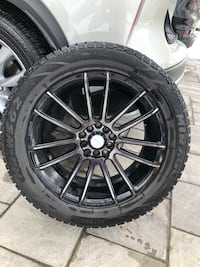 Winter Tire with Rims 225/55R17