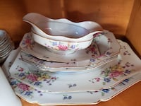 China dishes set of 5 for 200.00 or best offer Innisfil, L9S 1Y6