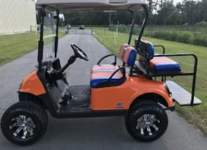 2016 48Volt EZGO DRIVE 4 PASS. GOLF CART W/LIGHTS, New Batteries