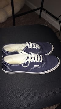 d0ac31d914568c Used Blue vans off the wall low top sneakers for sale in Raleigh - letgo