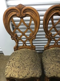 AICO Venetian dining room chairs set retails over 1500$  Southampton