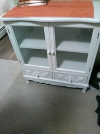 white wooden framed glass cabinet Sherwood Park, T8B