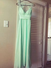 women's green sleeveless dress Dallas, 75243