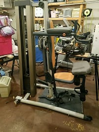 Weight bench nordictrack 360