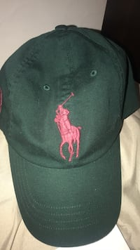 Polo hat dark green and red Edmonton, T5E