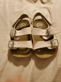 Shoes - light pink sandals with 2 adjustable straps Lancaster, 93535
