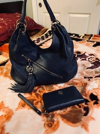 Like new Navy Michael Kors purse and wallet San Jose, 95127
