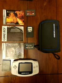 Nintendo Gameboy Advanced DS with game cartridges Richmond, 23238