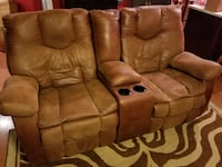 Electric reclining couch and theater seat set null